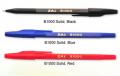 Solid barrel ballpoint pen B1000