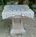 Table Carved From Sandstone