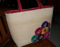 Bag embroidered