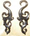 Earrings Horn
