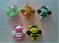 Keychain Bees