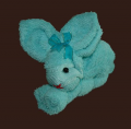 Towel Blue Rabbit