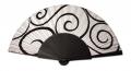 Modern fan batik silk