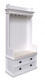 Coat hanger unit, with 2 drawers