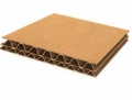 Double-wall corrugated boards