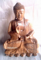 Sitting Wooden Budha