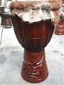 Drum Djimbe Carved