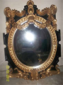 Mirror Gold Antique Pari
