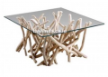 Teak branch square table
