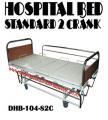 Hospital Bed 2 Crank Standard