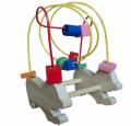 Wiregame dog, puzzle