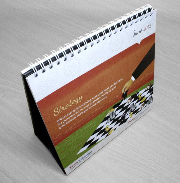 Order Printing of calendars