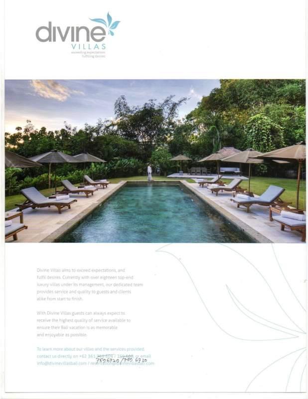 Order Seminyak Private Luxury Bali Villas