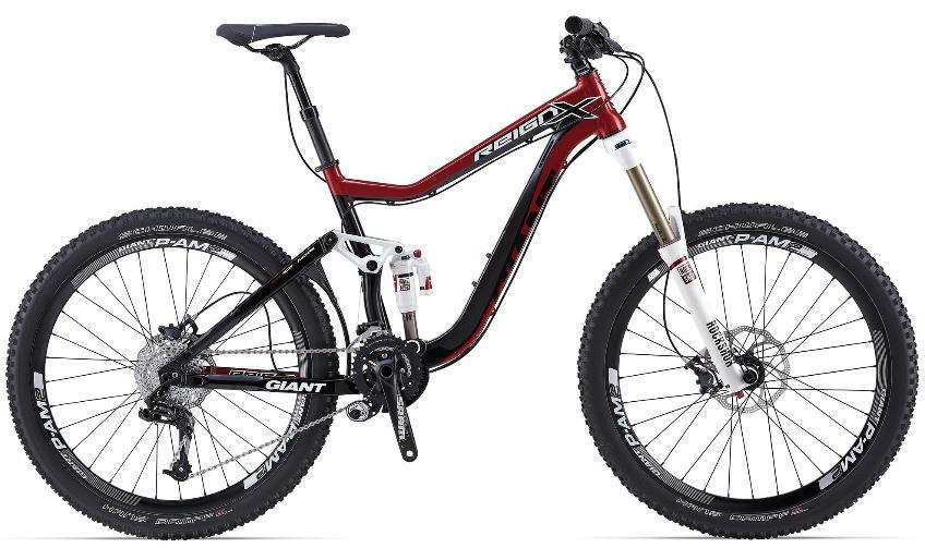 Order 2014 Giant Reign X1 Mountain Bike