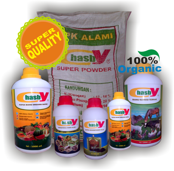 Order PUPUK ORGANIC SUPER CHASBY