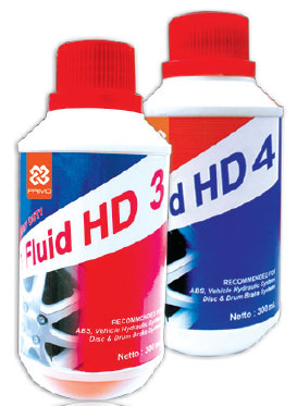 Order PRIMO BRAKE FLUID HD 3 & 4
